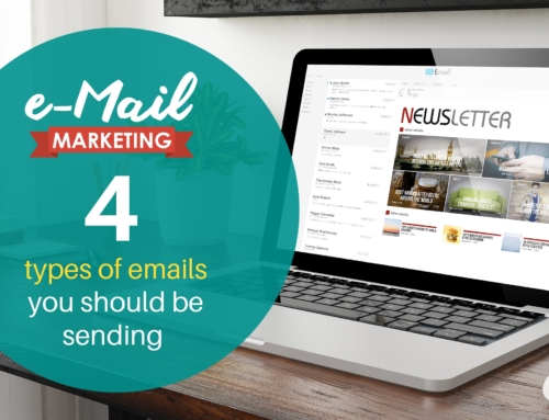 Email marketing: 4 types of emails you should be sending