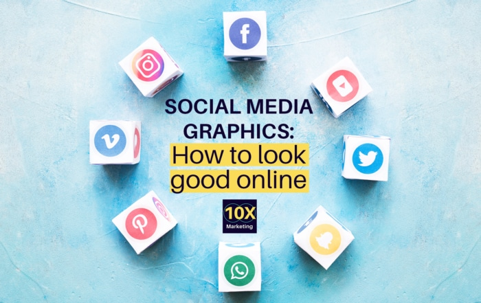 Looking good online with social media graphics