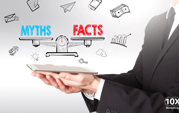 10X Digital Marketing Myths Blog Banner